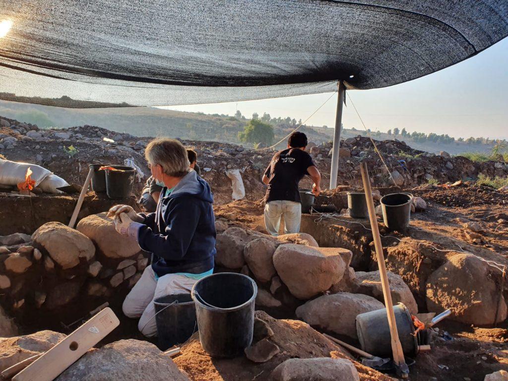 עבודות בחפירה. צילום: עינת עמבר-ערמון