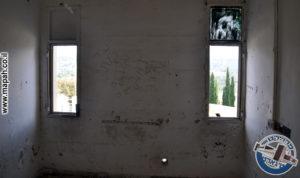 חלון דופן מזרחית קומה שניה - משטרת באסה - צילום: אפי אליאן