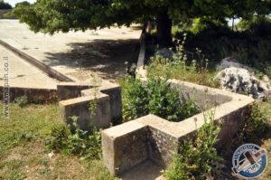 פתח קולט הניקוזים הראשון של מתקן אספקת המים בהר אגר - צילום: אפי אליאן