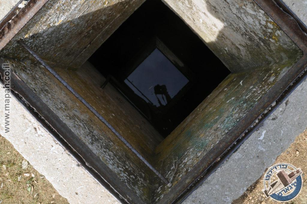 פתח ראשון של מאגר המים התת קרקעי בהר אגר - צילום: אפי אליאן