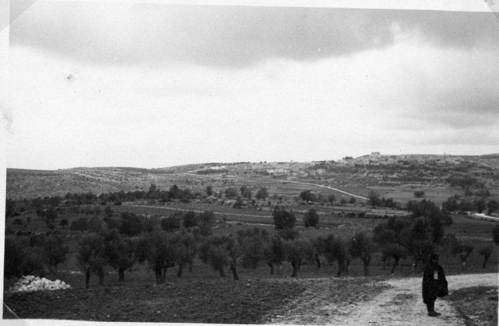 """כפר תרשיחא כפי שצולם ב-1940. - מקור: מע""""צ - ממשלת ארץ ישראל / גנזך ארכיון המדינה"""