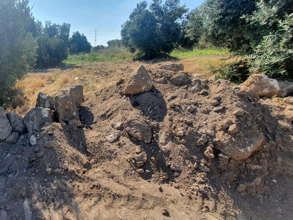 חפירת השוד בעמק זבולון