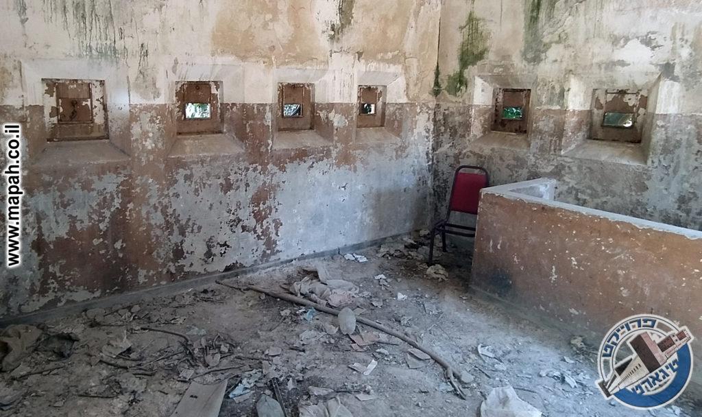 מגדל השמירה של משטרת אבו גוש - צילום: ארכיון האתר