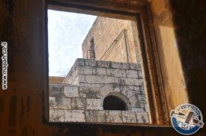 בניין הסראייה מכיוון האורווה - צילום: מורן יונה אליאן