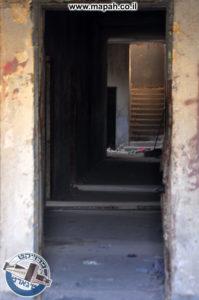 הפרוזדור בבלוק הטיגארט מחדר הסראייה של אבו גוש - צילום: מורן יונה אליאן