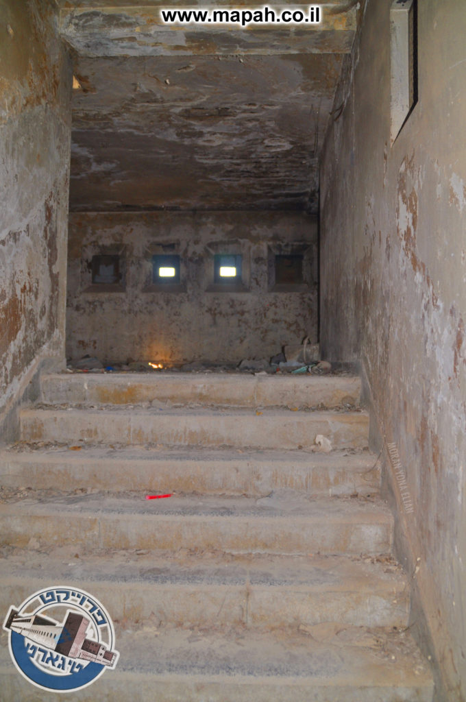 המסדרון העולה אל מגדל השמירה - צילום: מורן יונה אליאן