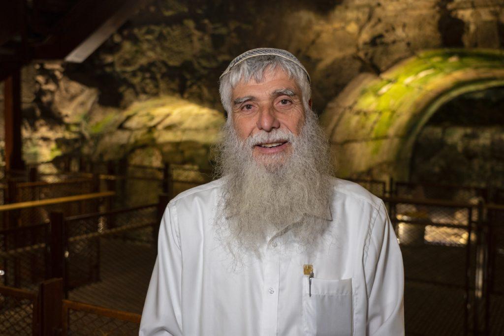 """מרדכי סולי אליאב, מנכ""""ל הקרן למורשת הכותל המערבי - צילום יניב ברמן"""