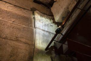 המזרקות המפוארות שפעלו במבנה המפואר לפני 2000 שנה - צילום: יניב ברמן