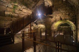 המסלול החדש במנהרות הכותל שייפתח למבקרים - צילום: יניב ברמן