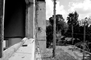 מהמרפסת לעבר כביש הגישה למצודה - צילום: אפי אליאן