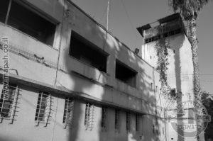 הבלוק הראשי של משטרת עתלית - כלא שש , בניין המפקדה - צילום: אפי אליאן
